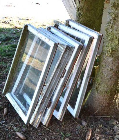 Altfenster umweltfreundlich entsorgen mit der Rieger Entsorgungs GmbH