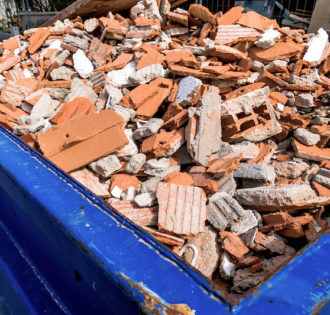 Baustellenentsorgung benötigt ein kluges Entsorgungskonzept von Rieger!